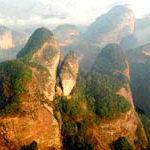 Il paesaggio Danxia della Cina inserito tra i patrimoni dell'UNESCO