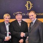 Harry Wu a Montecitorio. Presentata legge contro commercio dei prodotti del lavoro forzato e libro del premio Nobel Liu Xiaobo