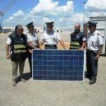 Porto di Taranto, sequestrati 20mila pannelli fotovoltaici