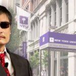 Dissidente cinese cieco perde casa all'Università di New York