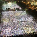 Hong Kong  Cina:In 150mila sotto una pioggia torrenziale alla veglia per Tiananmen