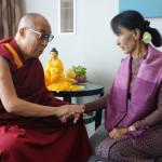 IL DALAI LAMA e AUNG SAN SUU KYI  interverranno insieme al forum di Praga il mese prossimo