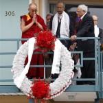 Dalai Lama parla del  suo sogno sul 50 ° anno del discorso di Martin Luther King Jr.