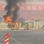 CINA : Esplode un auto in piazza Tiananmen. Tre morti