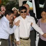 Cina: Madre e fratello del dissidente cieco Chen Guangcheng  bloccati all'aeroporto.  Desideravano andare a far visita al congiunto.