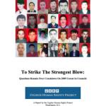 L'UHRP traduce il rapporto  sulla repressione degli Uighuri avvenuta il 5 luglio 2009 in Urumchi