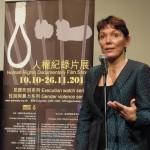 "Hong Kong: Reggie Littlejohn presenta  ad Amnesty International  il film documentario  ""È una ragazza""."