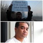 Vittima di 79 giorni di prigionia illegale. La famiglia ha avuto notizie solo dopo 25 giorni dal suo arresto.