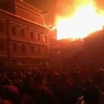 Tibet: Incendio nel Monastero di Serta nella contea di Larung