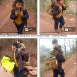 Cina: 30 chilometri al giorno a piedi per portare a scuola il figlio disabile in spalla. Storia di Yu Xukang