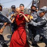 Nepal-Kathmandu vieta ai tibetani di celebrare i moti per l'indipendenza dalla Cina
