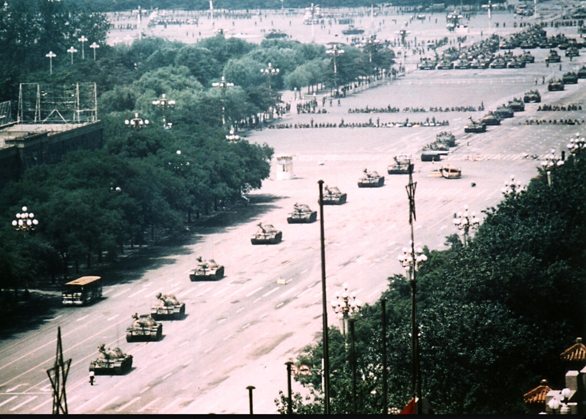 Il massacro di piazza Tienanmen,