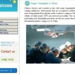 Cina: Turismo dei trapianti, sito cinese rimosso dal web