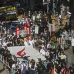 CINA: Hong Kong, migliaia in piazza per il 25mo anniversario del massacro di Tiananmen