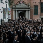 Hong Kong: avvocati in marcia silenziosa in protesta della Cina