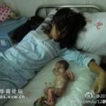 Il regime cinese dentro il letto (Video aborto forzato)
