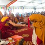 POMAIA: venerdì 13/06/2014 – Il Dalai Lama consacra la collina del futuro Monastero Lhungtok Choekhorling (Video)
