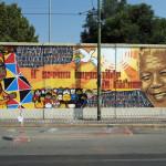 A Milano un murale dedicato a Nelson Mandela. (Video)