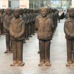 Cina, provocazione di un'artista,  l'esercito delle bambine mai nate (Video)