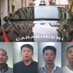 """ITALIA-Criminalità cinese. Operazione """"TRIADE"""": arrestati 4 cinesi per sequestro di persona e rapina"""
