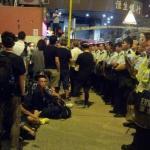 A Mong Kok ritornano i dimostranti dispersi dalla polizia di Hong Kong