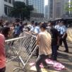 CINA: La polizia sgombra alcune barricate di Occupy. Leung: Nulla smuo...