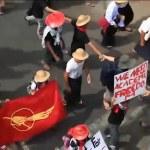 Birmania, studenti sfidano divieto di manifestazione a Yangon