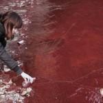 Inquinamento obbliga donne incinte ad abbandonare un villaggio in Cina