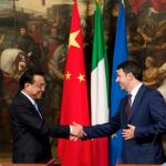 Italia Unica: Renzi consegna energia italiana alla Cina
