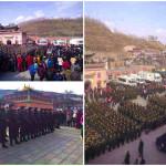 Nuove foto mostrano la forte presenza di polizia al festival tibetano Monlam (foto e video)