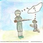 I disegni drammatici dei bambini profughi dalla Birmania