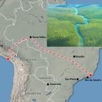 Cina ingorda di materie fa pressioni in Brasile per costruire una grandiosa ferrovia  che attraversa tutta la foresta amazzonica