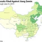 Arrestate 44 persone che volevano citare in giudizio Jiang Zemin