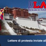 LAOGAI RESEARCH FOUNDATION: lettere di protesta inviate alla autorità cinesi