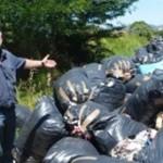 Tonnellate di rifiuti abbandonati: sequestrato centro di stoccaggio cinese