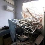 Il  Pcc demolisce un ospedale con medici e pazienti all'interno