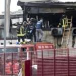 Roma: fuoco in capannone dei cinesi, un morto. Fatalità o degrado? [Video]