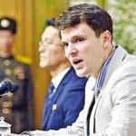 Corea del Nord, 15 anni di lavori forzati allo studente americano Otto Warmbier