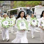 New York, parata per i diritti umani in Cina