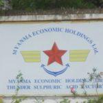 Myanmar: Il peso dei militari rimane forte. La vicenda della fabbrica di acido solforico gestita con la cinese Wanbao Mining
