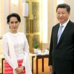 Aung San Suu Kyi in visita ufficiale in Cina