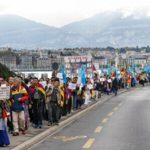 In piazza contro la Cina. Un migliaio di uiguri e tibetani hanno manifestato a Ginevra contro la politica repressiva di Pechino