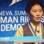 Nipote dello lama tibetano assassinato Tulku Tenzin Delek affronta vertice delle Nazioni Unite a Ginevra