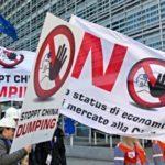Dumping dalla Cina, ferita ancora aperta