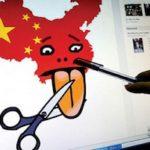 Cina vieta notizie in tempo reale sui social