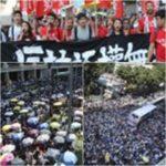 Cina-Hong Kong: decine di migliaia protestano per la condanna degli studenti attivisti