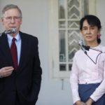 Suu Kyi si sta operando per ottenere aiuti per i rohingya: parla il senatore americano McConnell