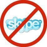 """Addio Skype in Cina, """"non in linea con la legge"""""""