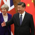"""La Cina elogia Theresa May per aver """"aggirato"""" i diritti umani"""