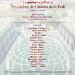 """[ROMA] – """"La spiritualità nell'arte: espressioni di armonia per il dialogo tra le religioni"""""""